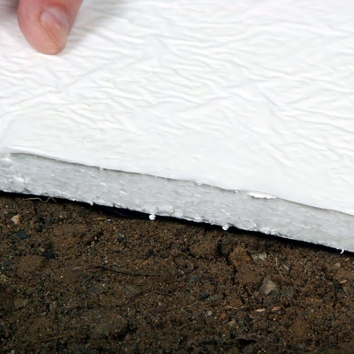 Crawl Space Insulation Radiant Heat Barrier Installation: crawl space flooring