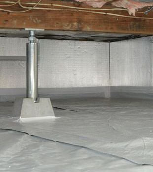 Crawl Space Insulation With Silverglo In Ontario Crawl