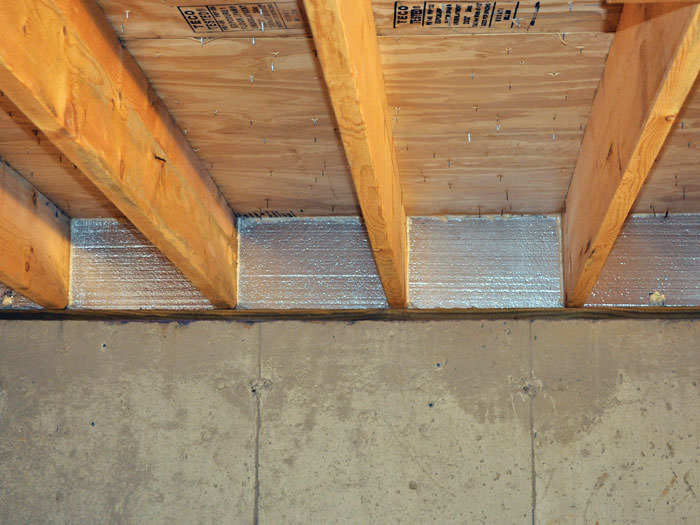 Insulating crawl space walls