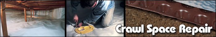 Crawl Space Repair in ON, including Napanee, Picton & Belleville.
