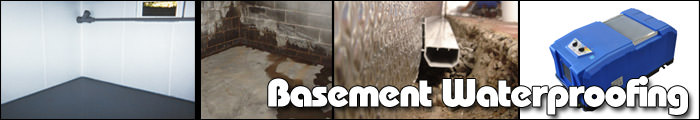 Basement Waterproofing in ON, including Picton, Napanee & Belleville.