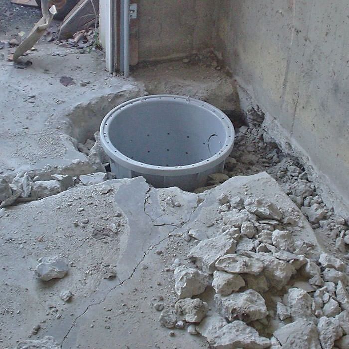 Placing A Sump Pit In Sharbot Lake Home