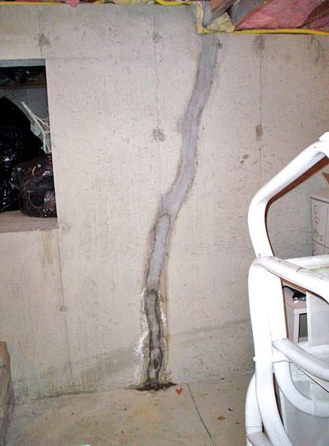Basement Floor Amp Wall Crack Repair Repair Leaking Cracks