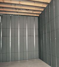 Thermal insulation panels for basement finishing in Picton, Ontario