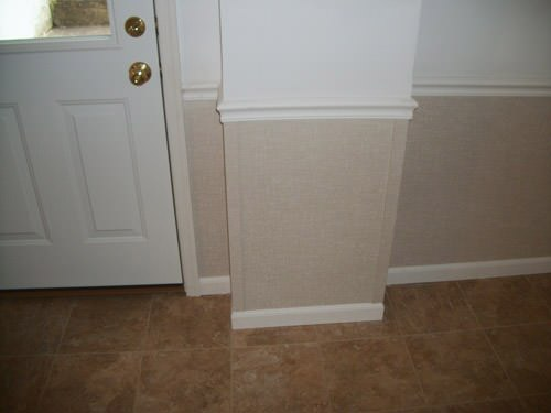 a bright white washable basement wall covering that does not adhere to the walls and resists mold & rot for Havelock homeowners
