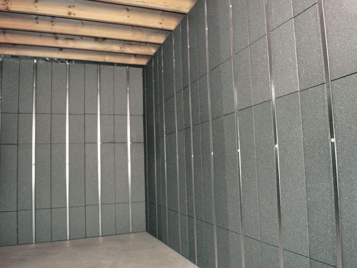 basement foam insulation panels