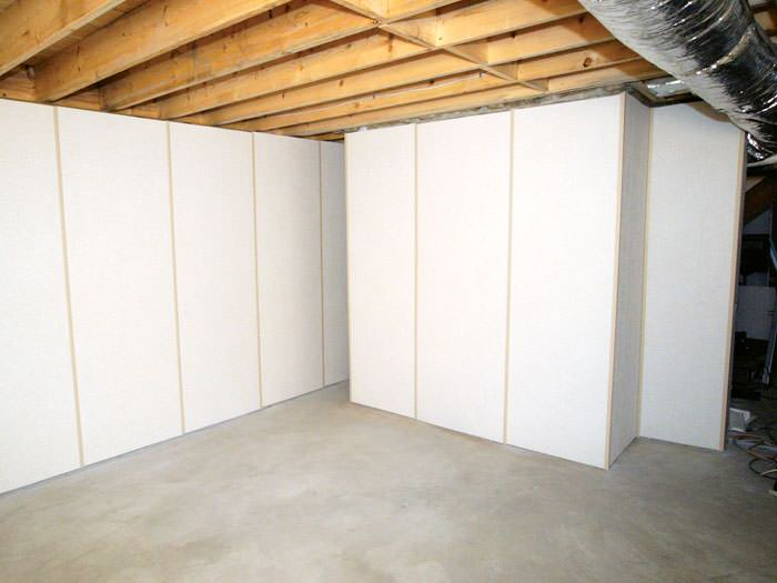 Attractive ... Panel System · Fiberglass Insulated Basement Wall System In Griffith, ON Great Pictures